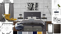Modern Master Bedroom Transformation Noraina Aina M. Moodboard 1 thumb