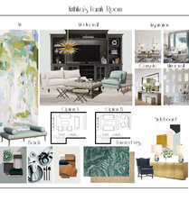 Transitional Eclectic Home Transformation Dominika Z. Moodboard 2 thumb