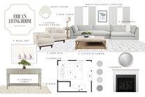 Elegant and Sophisticated Living Room MaryBeth C. Moodboard 1 thumb