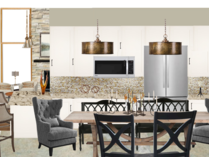 Neutral Transitional Kitchen & Dining Area Catz D. Moodboard 1 thumb