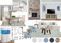Clean Transitional Living Room Picharat A.  Moodboard 2 thumb