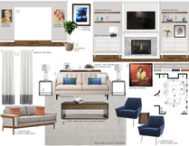 Eclectic with Blue Accents Living Room Picharat A.  Moodboard 1 thumb