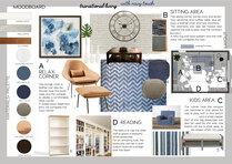 Homey traditional industrial living room Elisabetta R. Moodboard 2 thumb