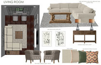 Small condo transitional living room Courtney H. Moodboard 2 thumb