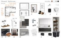 Contemporary Minimal Bathroom Marina S. Moodboard 2 thumb