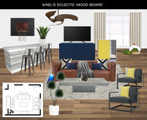 White Eclectic Living Room Luca C. Moodboard 1 thumb