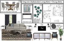 Sophisticated Living/Dining Transformation Brittany J. Moodboard 1 thumb