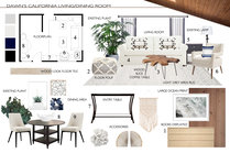 Elegant transitional living room and bedroom design MaryBeth C. Moodboard 1 thumb