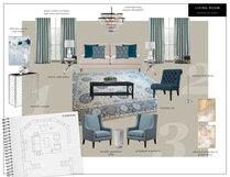 Beautiful Blues in Living Room Transformation Eleni P Moodboard 1 thumb