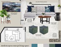 My Modern Living Room Transformation Angela S. Moodboard 1 thumb