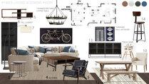 Modern Farmhouse Living/Dining Room Jessica S. Moodboard 2 thumb