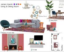 Eclectic Living Room Tiara M. Moodboard 1 thumb