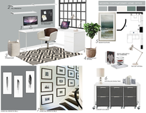 Nook Home Office Transformation  Picharat A.  Moodboard 2 thumb