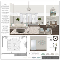 Transitional Eclectic Home Transformation Sonia C. Moodboard 1 thumb