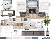 Modern Family Room & Foyer Transformation Laura A. Moodboard 2 thumb