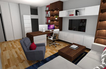 Online Designer Studio 3D Model