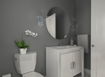 Online Designer Bathroom 3D Model
