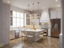 Online Designer Kitchen 3D Model