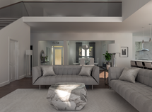 Online Designer Combined Living/Dining 3D Model