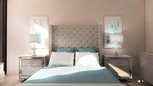 Online Designer Bedroom 3D Model