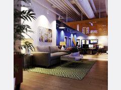 Tech Startup Office Design Rendering thumb
