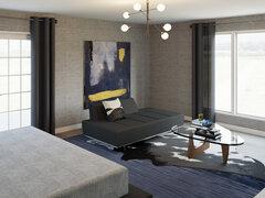 Modern Bedroom Transformation Rendering thumb