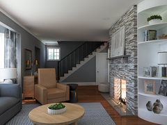 A Whole New Living Room and Entry  Rendering thumb