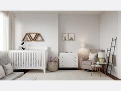 Soft Neutral Nursery Design Rendering thumb