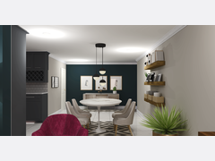 My New Living Dining  Rendering thumb