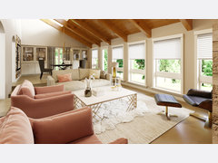 Rustic Living and Dining Rendering thumb
