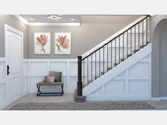 Neutral White and Gray Entry Rendering thumb