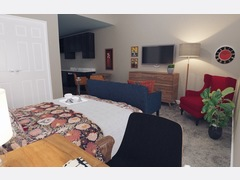 Colorful Eclectic Bedroom Rendering thumb
