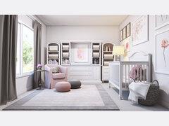 Contemporary Nursery Design  Rendering thumb
