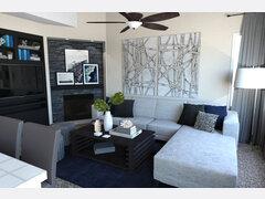 My Modern Living Room Transformation Rendering thumb