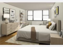 Simple to Modern Bedroom  Rendering thumb