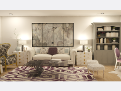 Glamourous Living/Dining Transformation   Rendering thumb