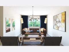 Creative Formal Living Room  Rendering thumb