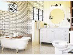 Timeless Bathroom Transformation Rendering thumb