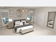 Playful Contemporary Boy Room Transformation Rendering thumb