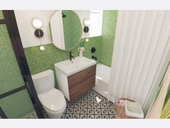 Pop of Color for the Bedroom, Bathroom, and Dining Rendering thumb