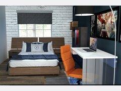 Teenager bedroom transformation Rendering thumb