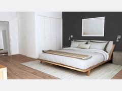 Natural Master Bedroom Rendering thumb