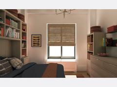 Alices Eclectic Bedroom Rendering thumb