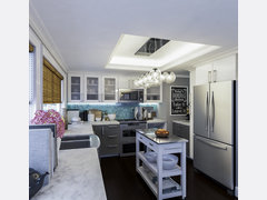 Susannas Modern and Functional Kitchen Makeover Design Rendering thumb