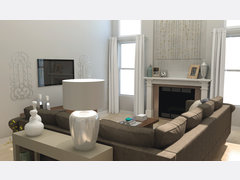Transitional Home Rendering thumb