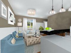 Cozy Kitchen Nook Rendering thumb
