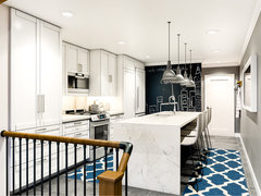 Bright and Modern Kitchen  Rendering thumb