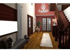 Traditional Rustic Entryway Rendering thumb