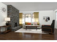 Modern Refresh for My Living Room  Rendering thumb