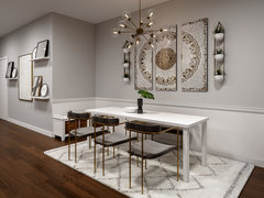 Neutral Eclectic Home Transformation Rendering thumb
